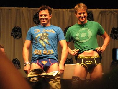 John Barrowman and Scott Gill!