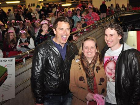 John Barrowman at panto<3