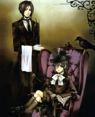 Black Butler, Black Lagoon, Black Cat.