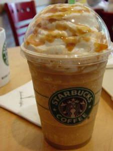 Starbucks карамель frappuccino