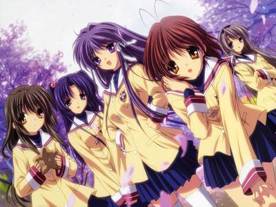 1. Puella Magi Madoka Magica 2. Bokurano 3. Clannad (pic) 4. Kaichou wa maid-sama! 5. Ouran High School Host Club