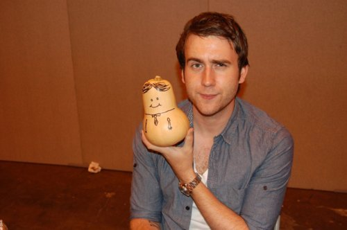 This one of Matt Lewis - clearly he's not impressed with the Potter Puppet Pals' version of Neville XD