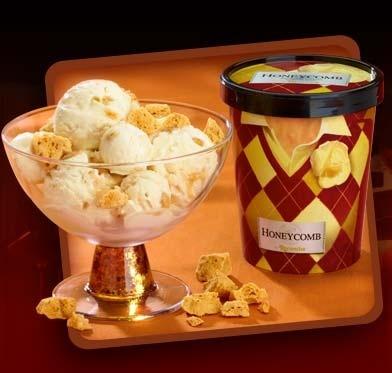 The best ice cream ever? соты, сотовый ice cream!