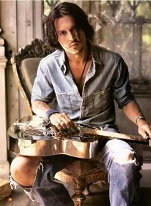 Johnny Depp .