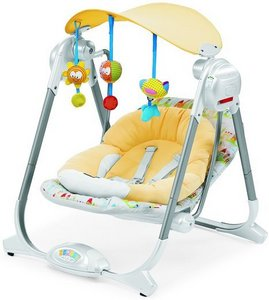 usually baby swings helps them to calm down and sleep
