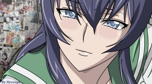 10) Moka Akashiya (Rosario + Vampire) 9) Himari Noihara (Omamori Himari) 8) Nami (One Piece) 7) ボア Hancock (One Piece) 6) Eucliwood Hellscythe (Kore wa Zombie Desu ka?) 5) Seras Victoria (Hellsing) 4) Elsie (Kami nomi zi Shiru Sekai) 3) Hina Sakai (Hoshizora e Kakaru Hashi) 2) Akeno Himejima (Highschool DxD) 1) Saejo Busujima (HOTD)