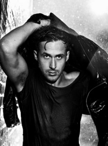 my pic of Ryan,looking hot and wet<3