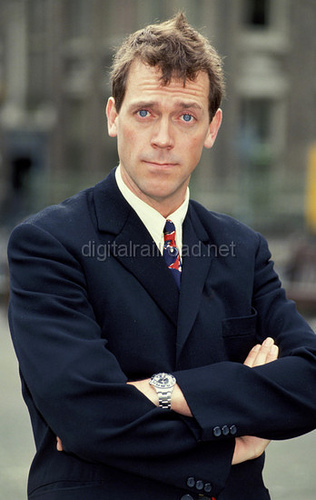 Hugh Laurie. I think he looks so adorable here <3