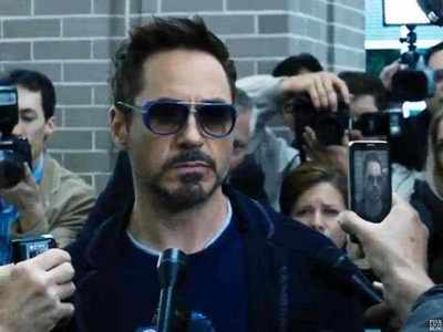 Tony Stark being totally pissed on ^^