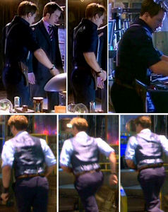 John Barrowman has the master of all bums..He rules every bum out there! Swagga bumveins<3