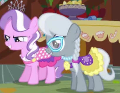 Diamond Tiara and Silver Spoon