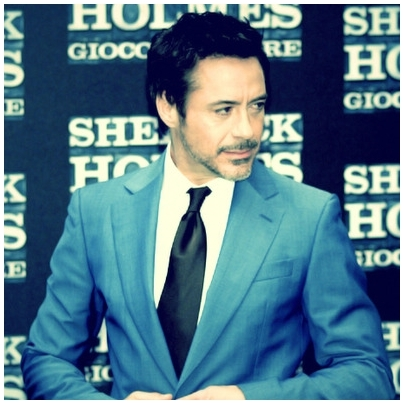 Sherlock Holmes and behind there is Sherlock Holmes :)