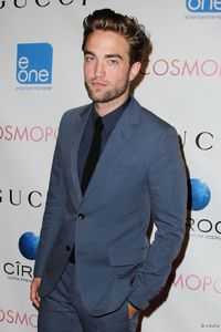 my sexy Robert at the NY premiere for Cosmopolis,with words behind him<3