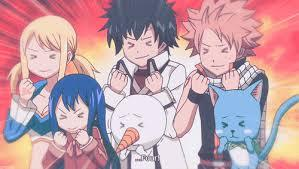 GOD, if natsu, lucy, erza, gray, happy and wendy came to my house looking for a place to stay i would be the servant!! with those guys u will NEVER be bored. they would be my new best Friends and i'll invite my other bff to Mitmachen in! the pic face would be mine! u can't like 1 of them, u have to Liebe (universe love) ALL of them!