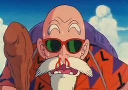 Bulma looks so fine she gave Master Roshi a nose bleed