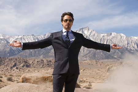 RDJ...he has the whole world in his hands