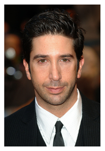 D. Schwimmer who portrays Ross Geller from Friends. :)