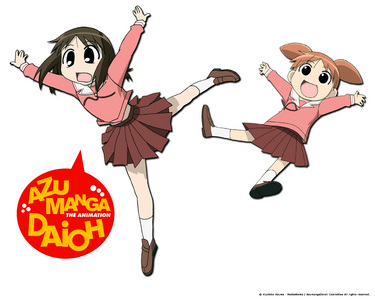 "Azumanga Daioh. It might be ""pre-moe"" or ""proto-moe"", but it's #1 in my book. paborito character is Sakaki, then Chiyo, and Osaka."