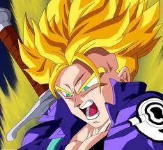 Trunks আপনি are an interesting person with great power and a badass