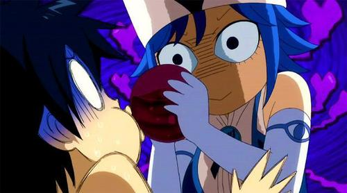 Juvia (Fairy Tail) is totally obsessed with Gray :)