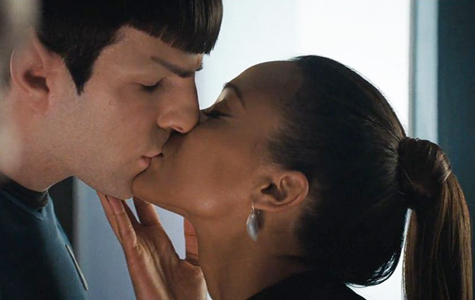 Spock and Uhura. They are so cute together! <3