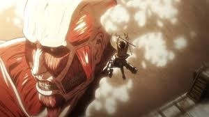 Attack on titan........it gets good in the first episode.