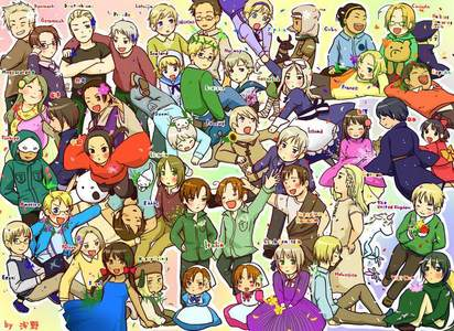 "I would प्यार to hang out with Prussia, America, and England from Hetalia. There just some of my प्रिय characters ^^"" I'm not really sure were I would take them, I suppose a festival.... I would actually प्यार to go to a theme park with them and go on all the rides! XD It would be hilarious if I got into a conversation with Prussia and America, just cause my फ्रेंड्स say I'm like them, still not sure if that's good या bad thing...."
