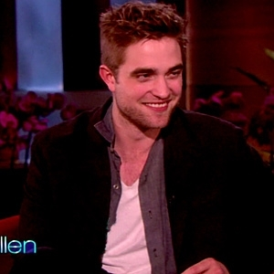 my gorgeous Robert on the Ellen show,which is my fave talk show<3