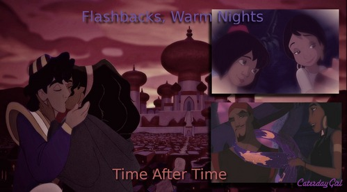This is a really hard سوال cause I'm proud of so many of my crossovers. I like my hugging crossovers like my scar and esmeralda, یا my Timon and Mushu. I'm proud of crossovers when the lighting is just right and they look like they are in the same movie together, like the one with esmeralda visiting aladdin in jail. But one that I'm particually proud of is this one. it's definately my پسندیدہ kiss I've made. I like all the young and old characters I picked for Esmeralda and Aladdin. but this only one of many that I'm proud of. I'm pretty proud of this one too http://www.fanpop.com/clubs/disney-crossover/images/31848936/title/thinking-photo