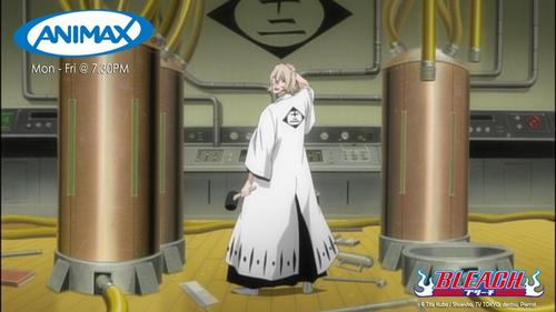 Kisuke Urahara (Bleach) he is the greatest scientist i know..........and he was also the founder of the research & development in soul society..............he he he hehe his intellect is beyond everyone's imagination in the whole soul society....he he eheh eh