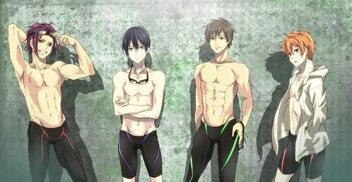 Free - Iwatobi Swim Club