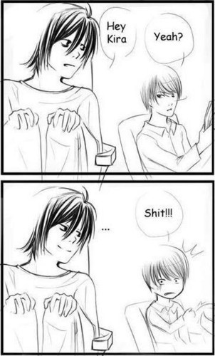 I'd प्यार to say this to Light Yagami XD