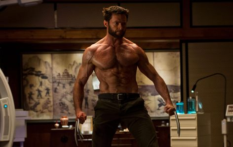 Hugh Jackman in Wolverine...yea.