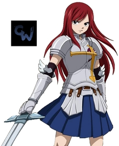 I am actually surprised that no one has ilitumwa Erza from Fairy Tail yet 0-0 .