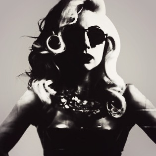 It's Lady Gaga, I picked it just because I thought it's cool, beside I'm a Little Monster :3