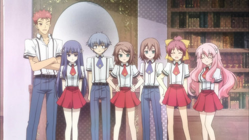 Characters from Baka to Test :)))