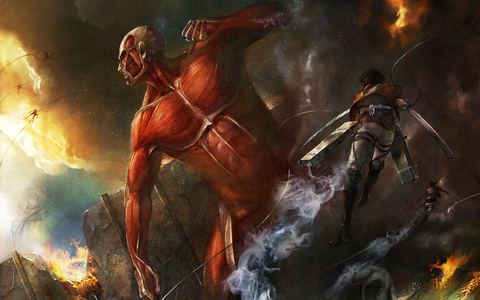 Try 'Attack On Titan' best onyesha of the mwaka imo
