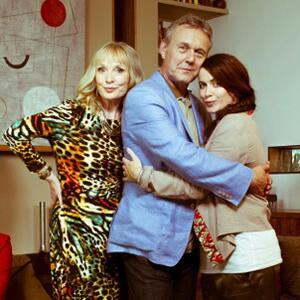 Tony and the gorgeous Eve Myles