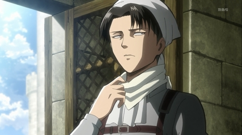 When I think of it, Levi/Rivaille from Attack on Titan fits the descrizione well.