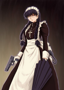 Roberta - Black lagoon, is my fave Anime character thats a girl I'm from Texas