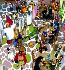 Most of the members of the Fairy Tail Guild from Fairy Tail