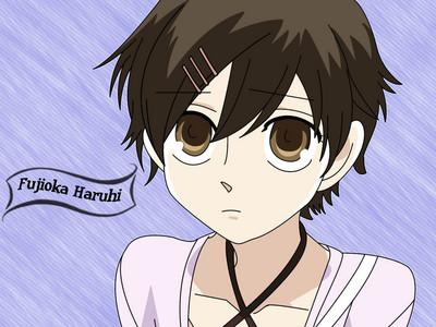I look like Haruhi Fujioka