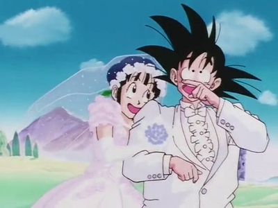 Goku & chichi (Dragonball)