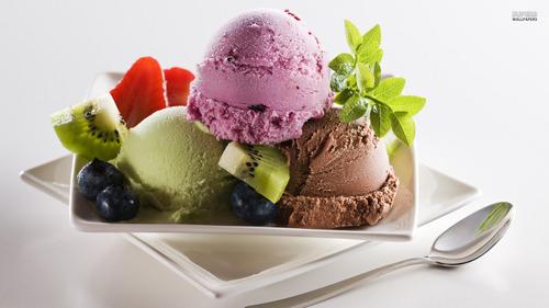 অথবা ice cream