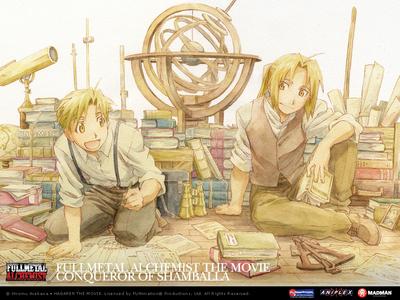 Tohru Honda, Alphonse and Edward Elric(picture), Kisa Sohma.