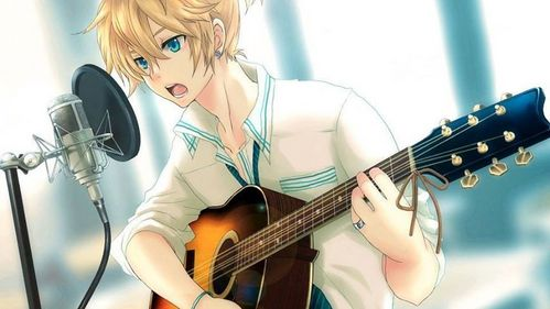 This is mine, literally just changed it. Len Kagamine <3
