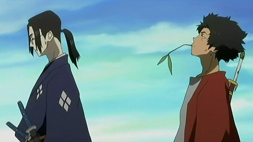 Mugen and Jin from Samurai Champloo are among the baddest.