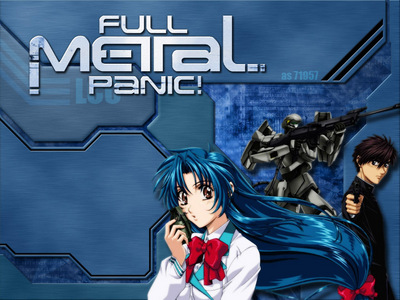 Full Metal Panic definitely, Chris Patton and Luci Christian together make a perfect dubb