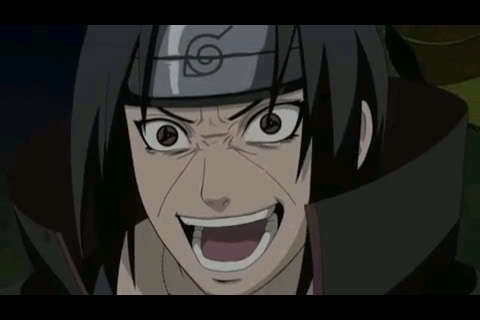 Maybe the only time Itachi Uchiha has not looked beautiful. :)