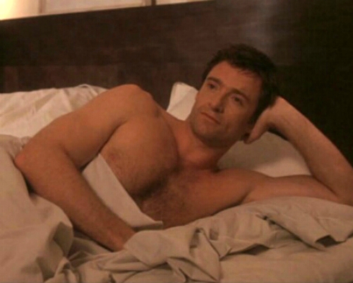 Hugh Jackman. i'd give everything i own to have him in my tempat tidur this instant, and let him do to me everything he wants, and just control and dominate me for one night... i'd fulfill my wildest fantasies with him